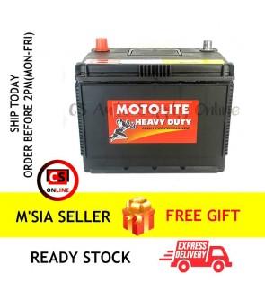 Century NS70L Motolite Car Battery MF for Proton Preve, Toyota Estima, Innova and Vellfire Ipoh area