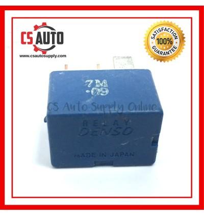 DENSO Relay 4pin 12V Wira Waja Head Lamp 4 pin (USED)
