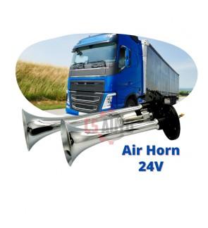 Air Horn 12V 24V Truck Lorry Air Horn High Frequency