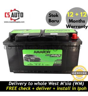 Amaron DIN100 DIN100L Hi Life Pro Battery MF Genuine