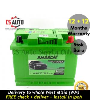 Amaron DIN55 DIN55L Hi Life Pro Battery MF Genuine