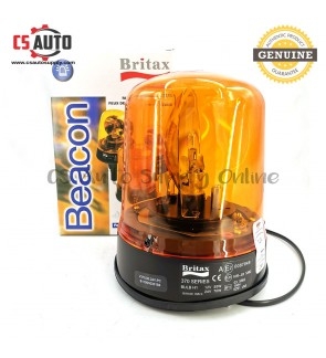 Britax Beacon lamp Rotate Light 370 series Yellow Amber 12V 24V 100% Genuine