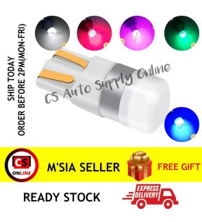 1pc x Led 4090 T10 12V 24V smd Bulb Bright White Colour plug in SMD