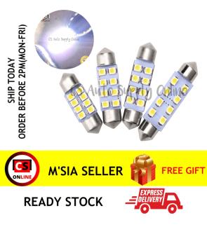 1pc x Led 12V 31mm 8smd Long light Bulb Bullet for car interior room lamp light