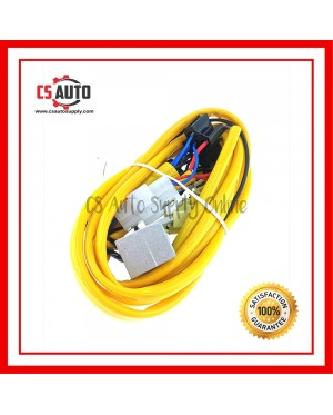 Car Shows H4 Halogen Head Lamp wire Kit with Diode Wiring Harness Toyota 2 relay socket