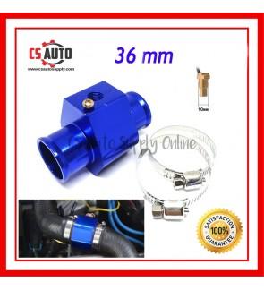 Water Temperature Joint Pipe 36mm Gauge Radiator Hose Adapter Temp Sensor Adaptor