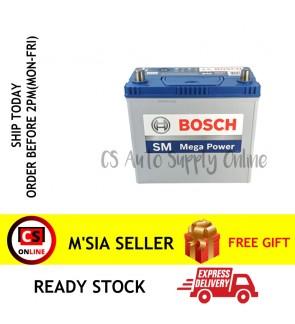 BOSCH NS60RS Car Battery MF 46B24RS for Proton Wira, Saga BLM/FLX, Toyota Corolla, Honda Civic