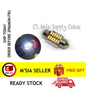 1pc x Led 12V 31mm 12smd Long light Bulb Bullet for car interior room lamp light Canbus
