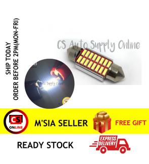 1pc x Led 12V 36mm 18smd Long light Bulb Bullet for car interior room lamp light Canbus