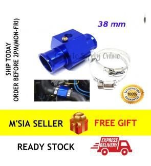 Water Temperature Joint Pipe 38mm Gauge Radiator Hose Adapter Temp Sensor Adaptor