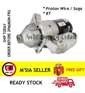 Proton Wira Saga Auto Manual Starter (new) 12V 8T 1.4KW