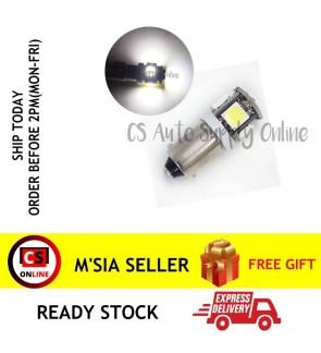 [CS ONLINE] 1 pc x Led 12V 4038 BA9S Light Lamp Bulb 5SMD White READY STOCK