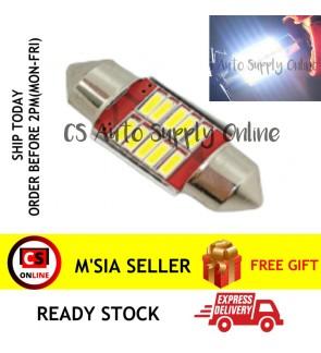 1pc x Led 12V 31mm 10smd Long light Bulb Bullet for car interior room lamp light Canbus