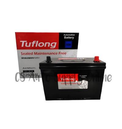 Tuflong Hitachi N120-7L 125D31L SMF Battery MF for Diesel Toyota Hilux, Mitsubishi Triton, Nissan Navara and Isuzu D-Max